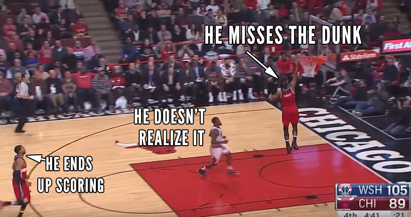 Double FAIL: Aaron Brooks Missing Ramon Sessions Missing A Wide-Open Dunk