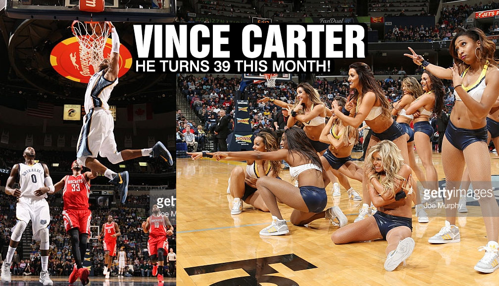 Vince Carter Throws Down His First Alley-Oop Dunk In 2 Years!?!