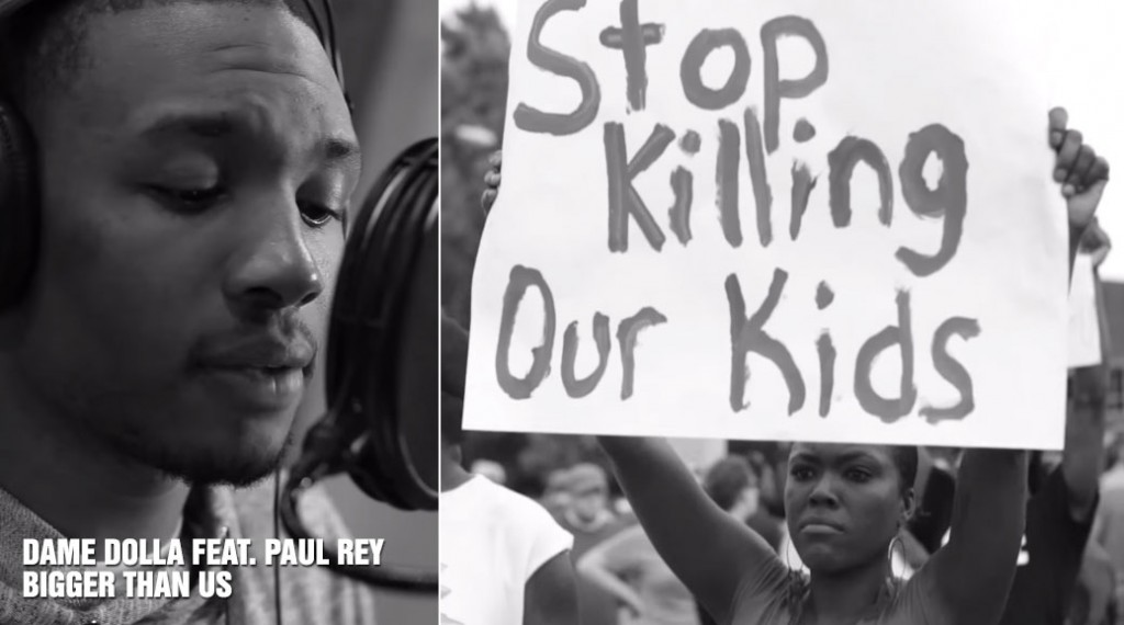 """Damian Lillard Releases Powerful Music Video for """"Bigger Than Us"""" on MLK Day"""
