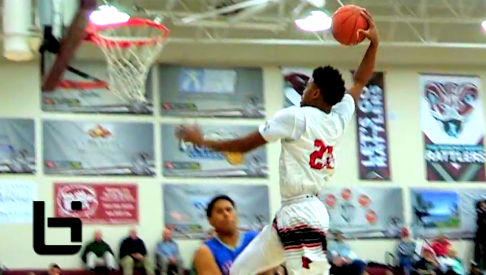 EX Football Star Making A Name In Basketball! MJ Walker Has Next Level Game Ballislife Mixtape