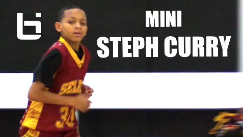 Mini Steph Curry Found In The Bay Area!