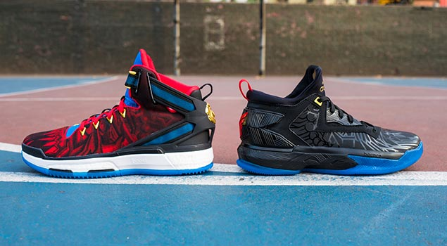 adidas Year of the Fire Monkey Collection | D Rose 6 & D Lillard 2