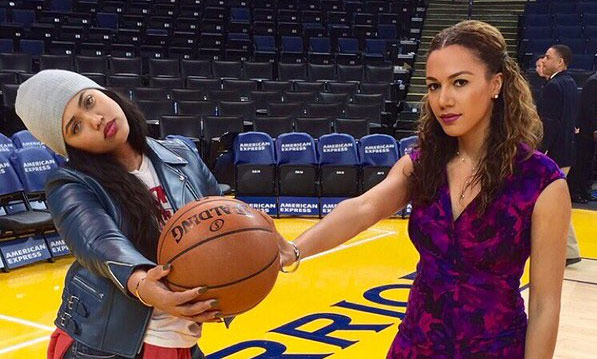 Steph Curry's Wife, Ayesha, Shows Off Her Globetrotter Tricks