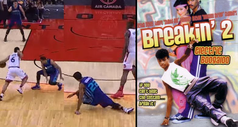 Breakin! Cory Joseph Breaks Brian Roberts Ankles & Makes Him Breakdance