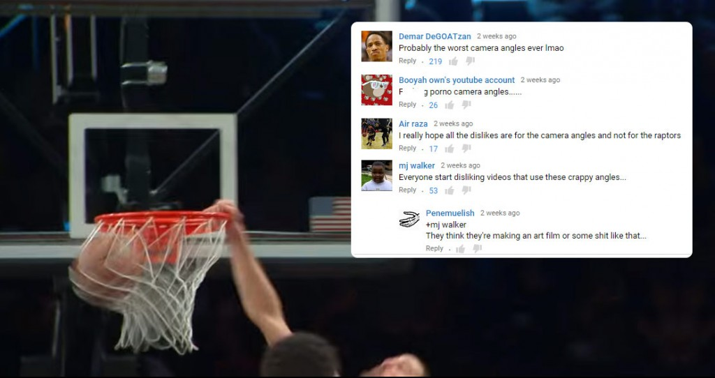 Dear NBA YouTube Channel, Stop Ruining Highlights With Annoying Camera Angles!