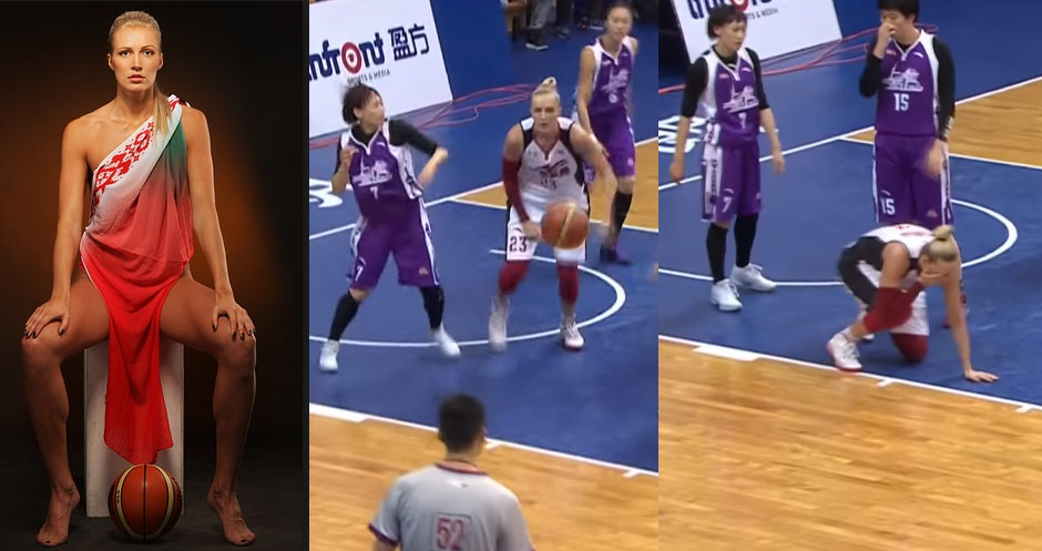 Former WNBA Player Gets Sucker Punched In Back-To-Back Games In China!