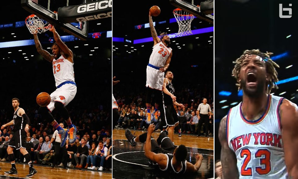 Derrick Williams Put On A Dunkfest On His Way To A Career-High 31 Points