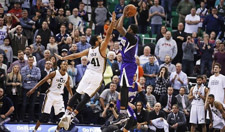 Thank You! Rudy Gay's Game Winner vs the Jazz Shuts Up Annoying Screaming Lady