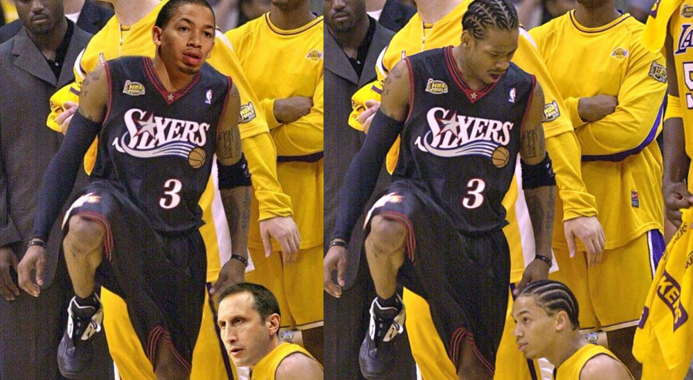 Allen Iverson Congratulates New Cavs Coach Tyronn Lue After Meme Goes Viral
