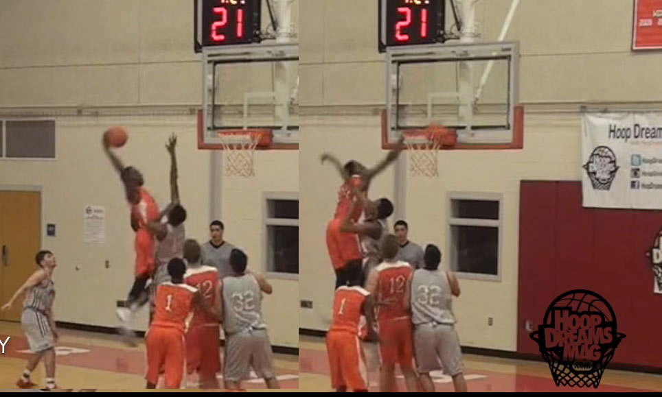 Yale commit Miye Oni Dunks On A Defender
