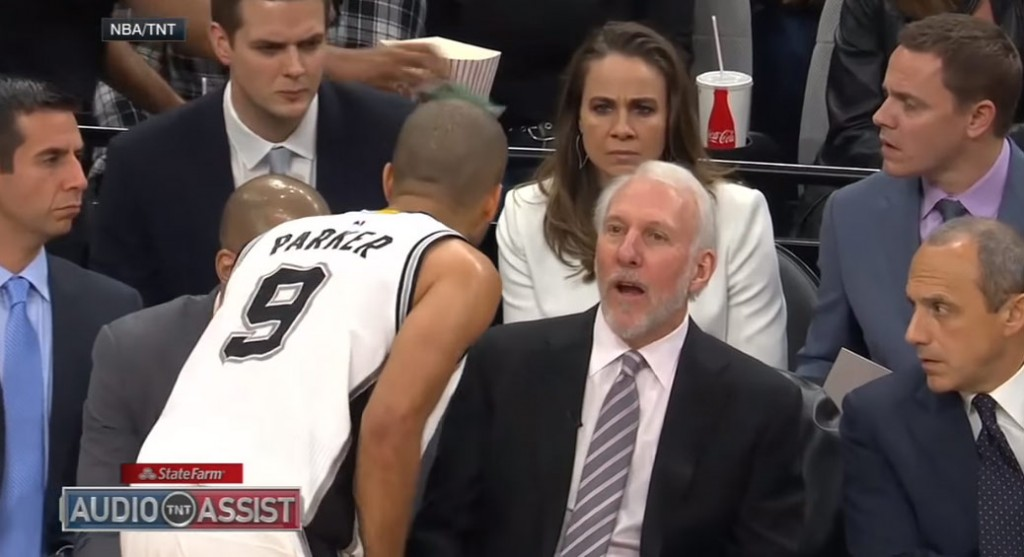 The Spurs Players Coaching Themselves In The 4th Quarter + Classic Pop