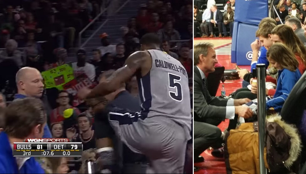 Kentavious Caldwell-Pope Gives Jersey To Crying Little Girl He Almost Kicked During Ejection