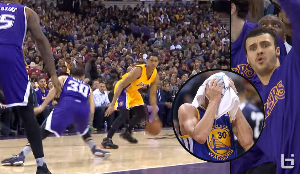 Jordan Clarkson Gets Revenge On The Curry Family By Breaking Seth's Ankles