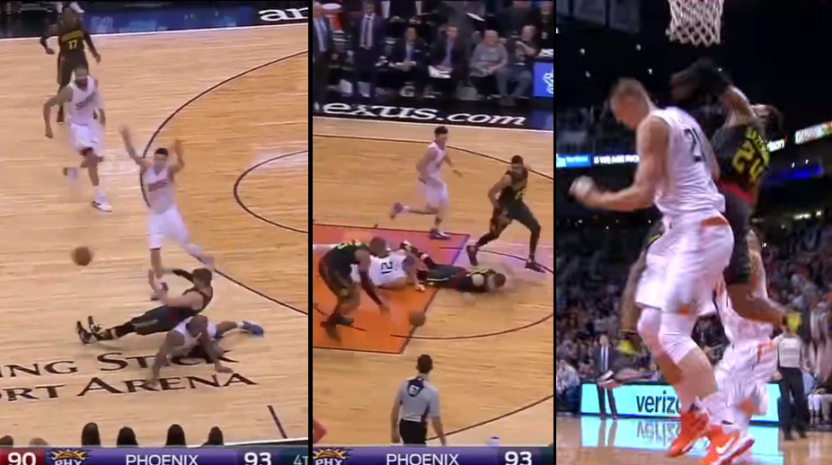 The Final Minute of the Hawks & Suns Game Was Not For The Faint of Heart