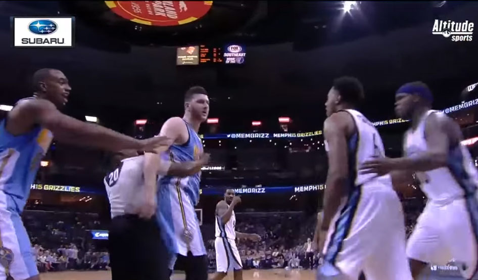 Super Mario Chalmers Gets Hot After Scuffle With Jusuf Nurkic