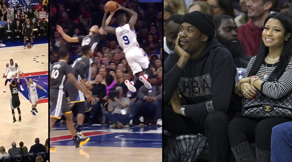 What's More Shocking: Steph Curry Airballs A 3, Rejects A Dunk or Almost Losing To The 76ers?