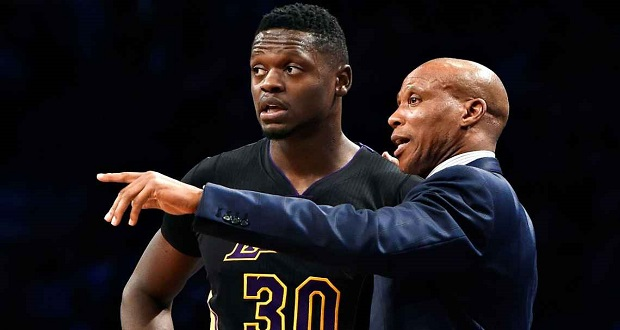 Julius Randle Didn't Make The Rising Stars Cut, Coach Byron Scott Doesn't Understand Why
