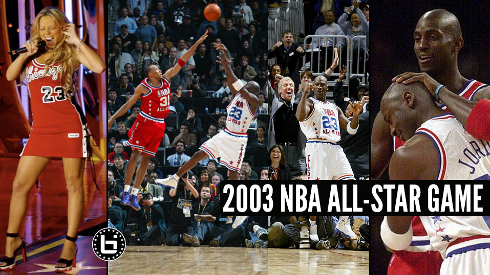Remembering The 2003 All-Star Game: When J. O'neal & Refs Ruined Michael Jordan's Magical Night