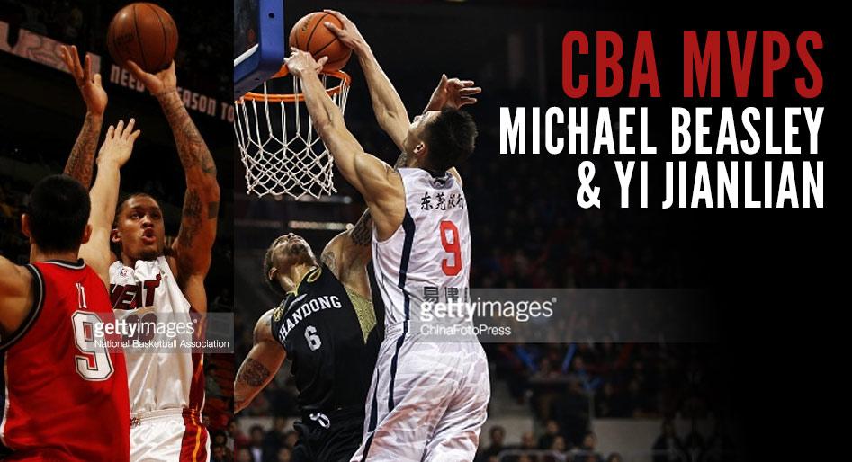 Michael Beasley Wins Foreign MVP Award in China, Yi Jianlian Wins 4th Straight Domestic MVP