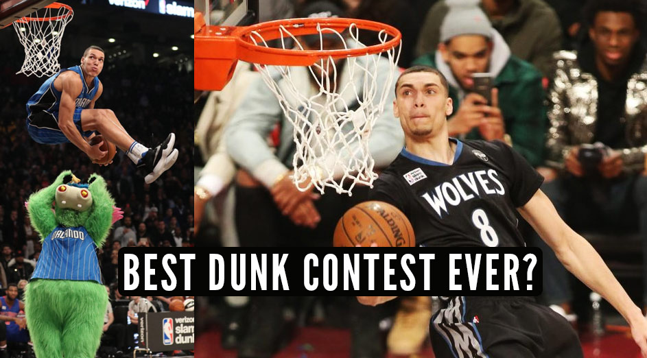 Zach LaVine & Aaron Gordon Had The Best Dunk Off In The Best Dunk Contest Ever