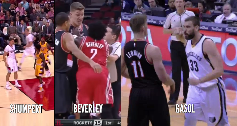 Marc Gasol Became The Latest Player That Wanted To Punch Meyers Leonard