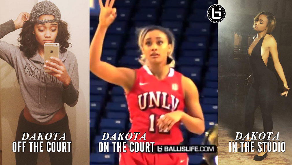UNLV's Dakota Gonzalez Showing Off Her Sweet Shot Vs San Jose State