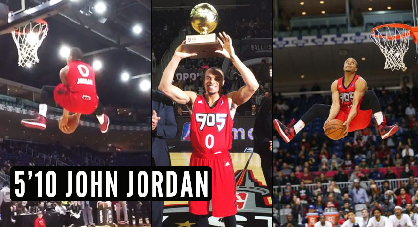 5'10 John Jordan Wins The Exceptional D-League Contest