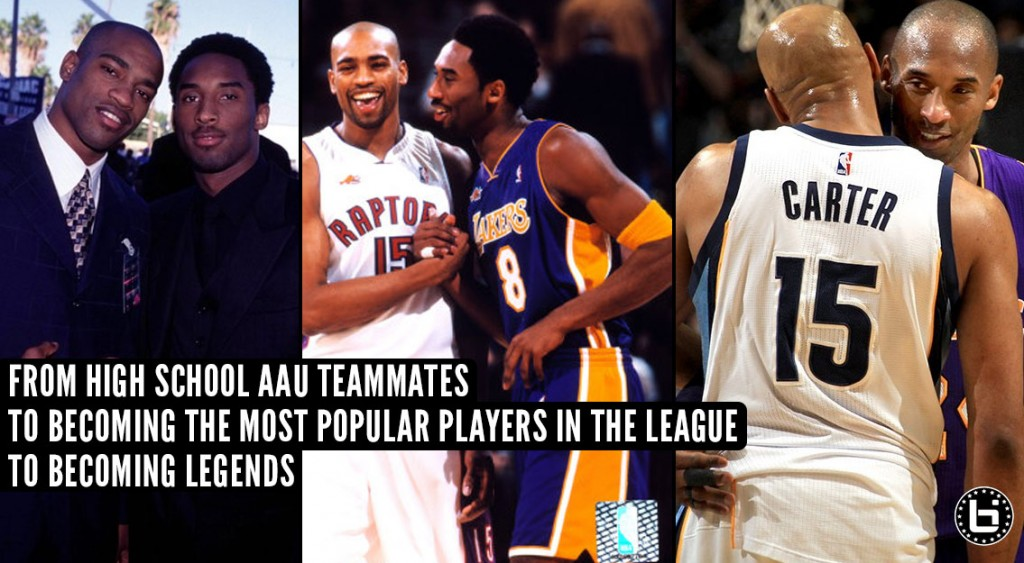 Kobe & Vince Carter's 22 Year Basketball Journey With & Against Each Other