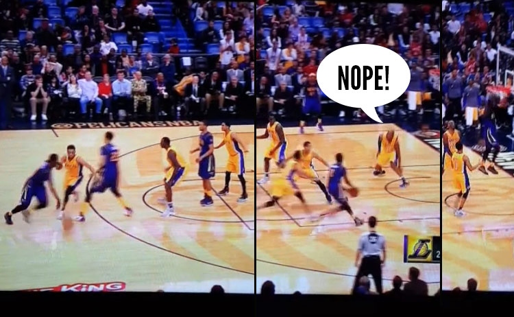 Kobe & the Lakers With The Horrible Pick and Roll Defense