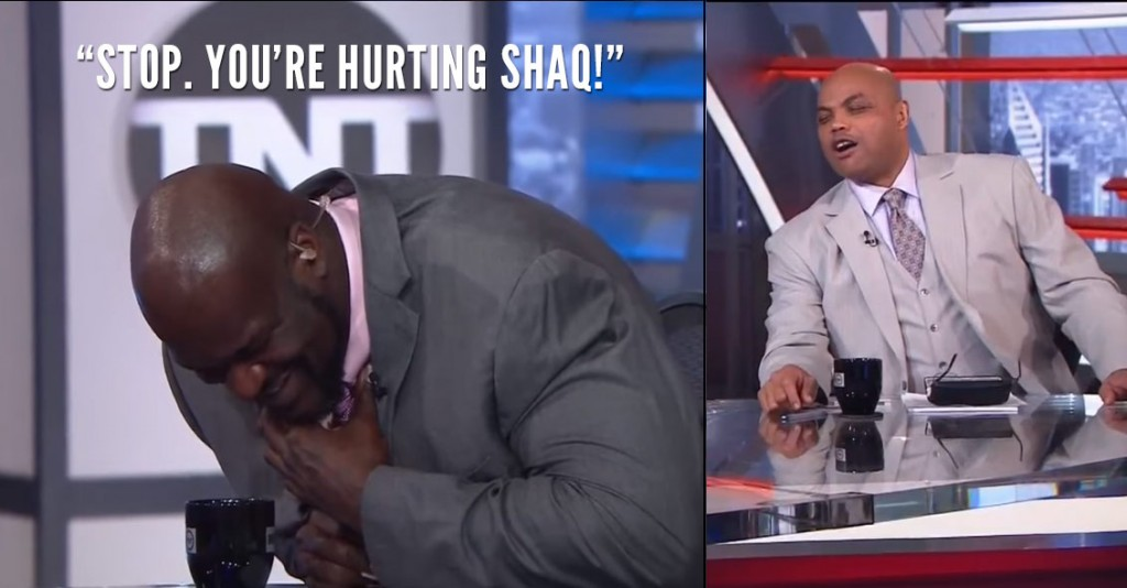 Charles Barkley's 2nd Hilarious Rant About The Phoenix Suns Made Shaq Choke