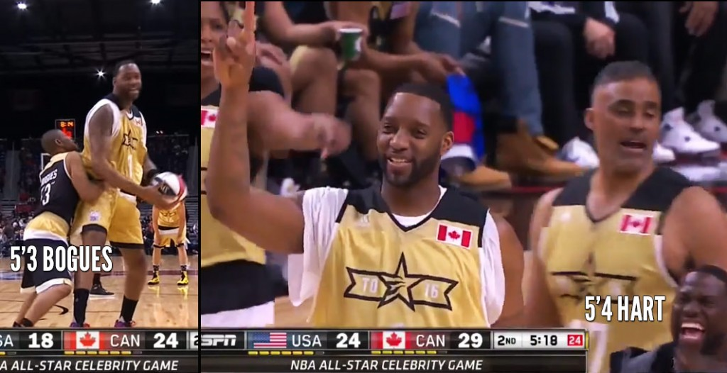 Top 3 Funniest Tracy McGrady FAIL Moments in the 2016 Celeb game