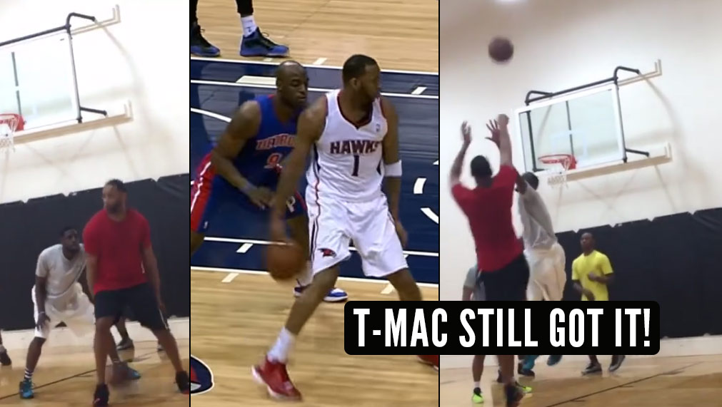 Tracy McGrady Still Has It! Will He Bring Out His Trademark Behind The Back Jumper at All-Star Weekend?