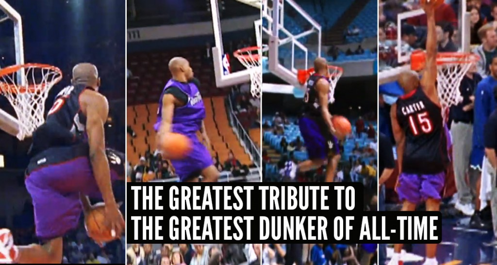 The NBA Just Released The Greatest Vince Carter Tribute Ever With Never Before Seen Footage