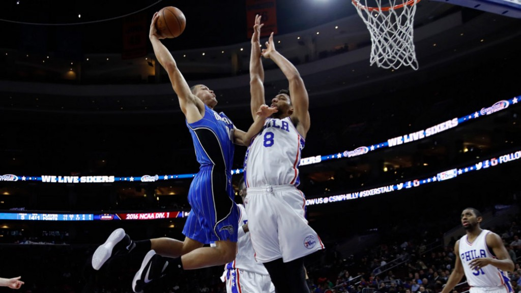 Aaron Gordon Takes Flight Against Jahlil and the 76ers