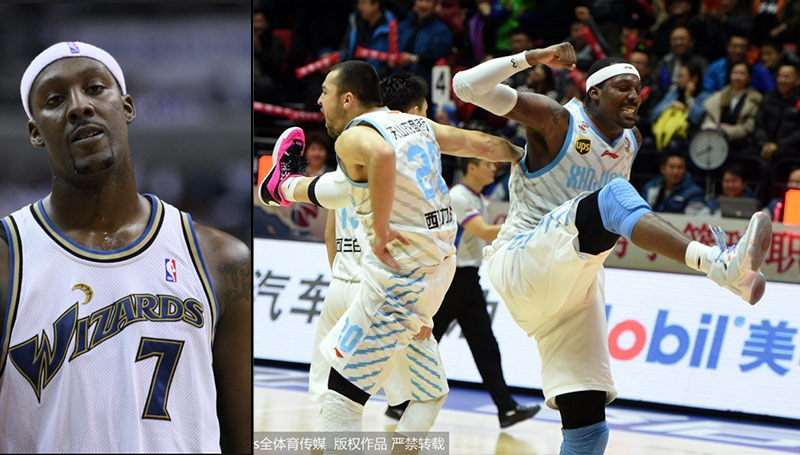 Former NBA Player Andray Blatche Scores 37, Throws Headband At Referee During Game In China
