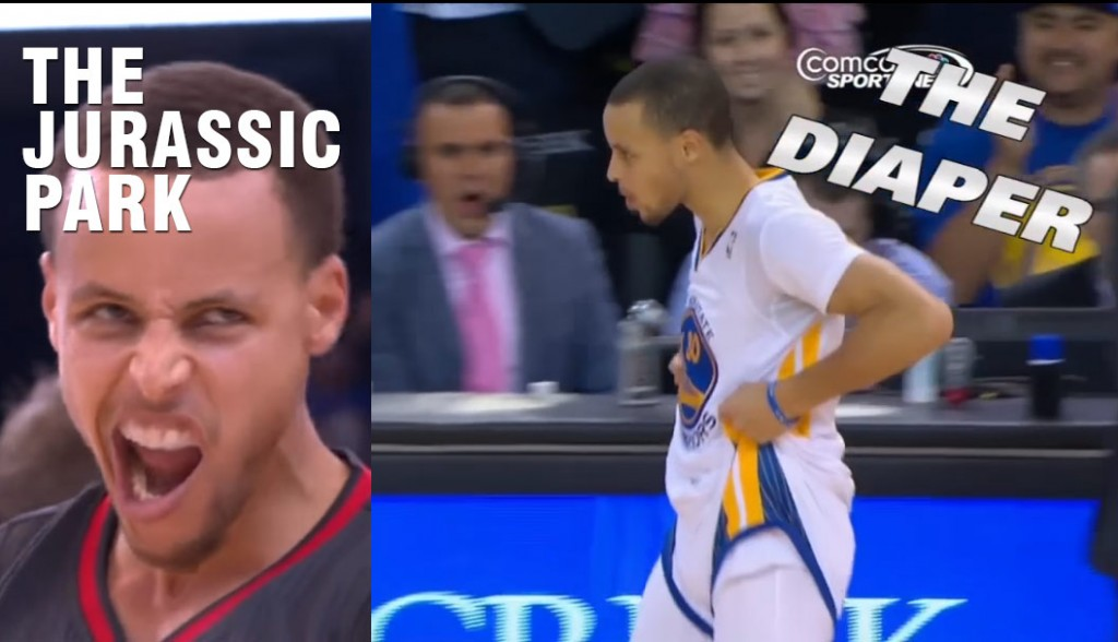 Steph Curry's Greatest Celebrations: From The Diaper To The Jurassic Park