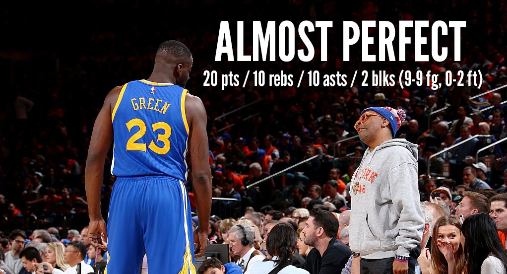 Draymond Green Almost Had The Perfect Triple Double/Game…But He Airballed A Free Throw!