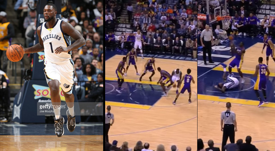 Lance Stephenson Hilariously Tries To Dribble Through 5 Lakers