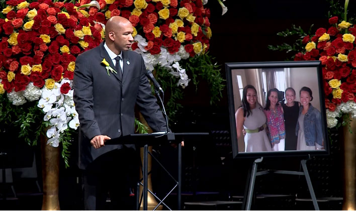 Monty Williams Gives Emotional Speech About Forgiveness At Wife's Funeral Service