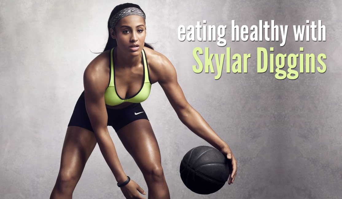 Eating Healthy With Skylar Diggins