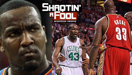 2015/16 Shaqtin' A Fool Midseason Awards: Kendrick Perkins Wins Lifetime Achievement Award