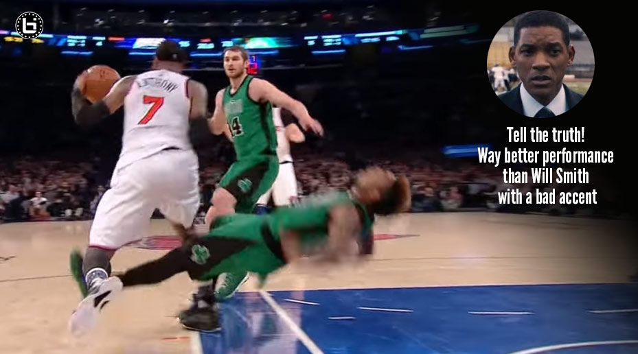 Marcus Smart With The Oscar-Worthy Flop