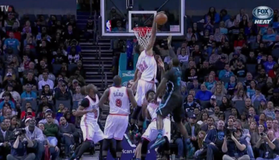 Hassan Whiteside Gets Triple Double in 27 Minutes, Had One Of The Best Catch-In-The-Air Blocks Ever!