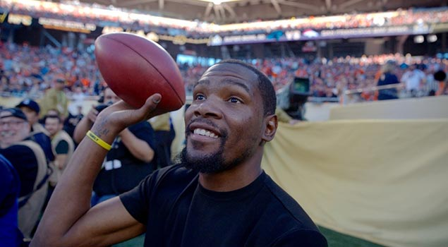 Kevin Durant | Views From Super Bowl 50