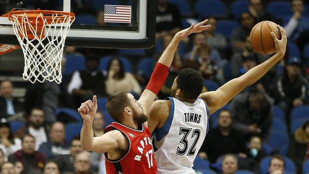 Karl-Anthony Towns Joins Elite Company After Scoring Career-High 35 vs Raptors