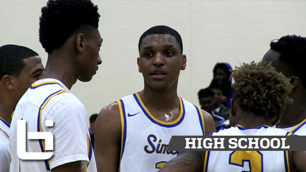 Simeon + Morgan Park Battle to the Buzzer in City Playoffs! Charlie Moore, Ben Coupet Shine!