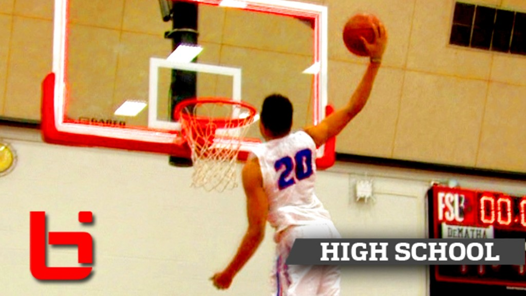 Markelle Fultz SHUTS DOWN ACIT Tourney with FREE THROW Line Dunk!
