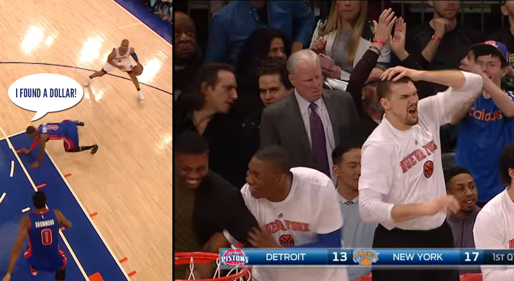 Now This Is A True No Excuses Ankle Breaker: Arron Afflalo Embarrasses The Pope