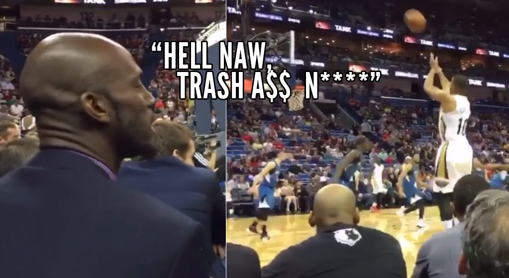 Kevin Garnett Might Not Play Again This Season, But He Can Still Hilariously Talk Trash To The Players…