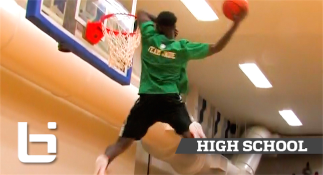 Sick High School Dunk Contest In Houston! Hooping4Luv Benefit